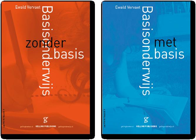 basisonderwijs met:zonder basis - ewald vervaet gelling mettrop grafische vormgeving