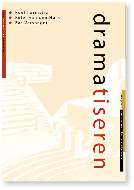 dramatisren - international theatre & film books mettrop grafische vormgeving