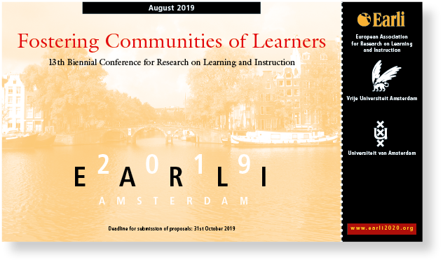 earli fostering communities of learners - uva mettrop grafische vormgeving