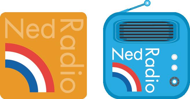 nederlandse radiozenders app - charm mettrop grafische vormgeving
