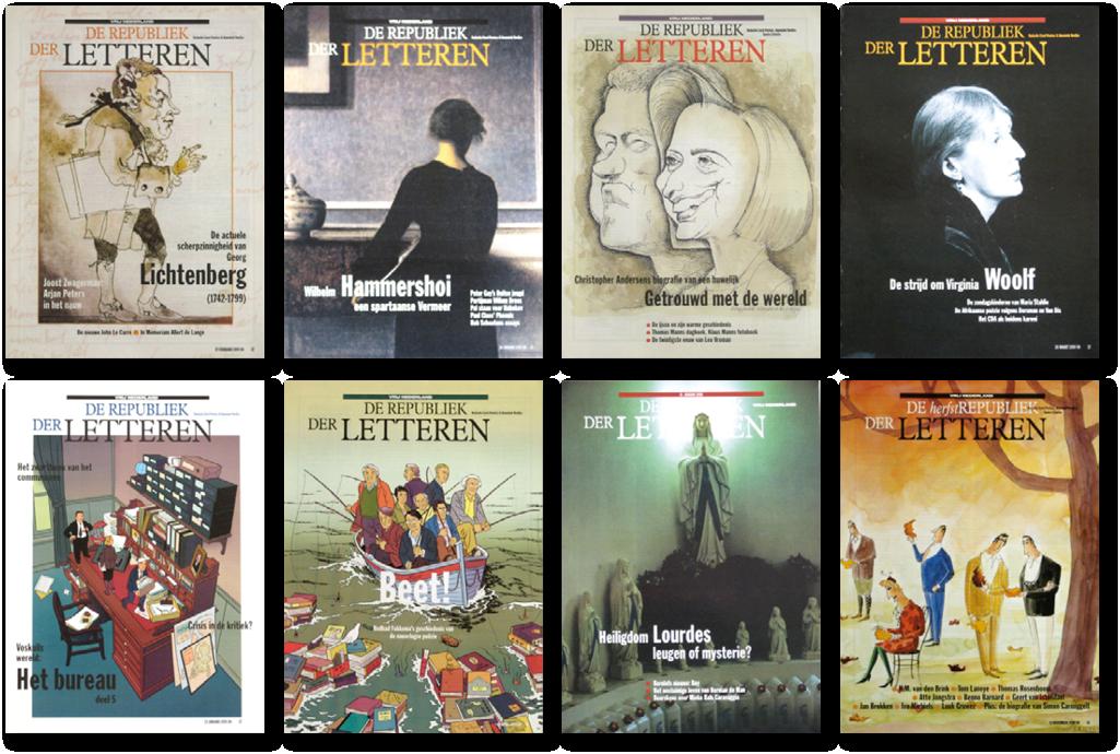 vrij nederland boekenbijlage mettrop grafische vormgeving