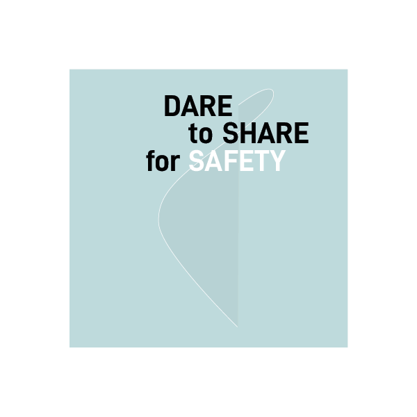 dare to share for safety congres mettrop grafische vormgeving