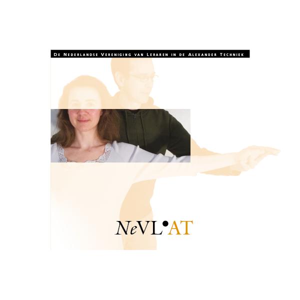 nederlandse vereniging van leraren in de alexander techniek mettrop grafische vormgeving