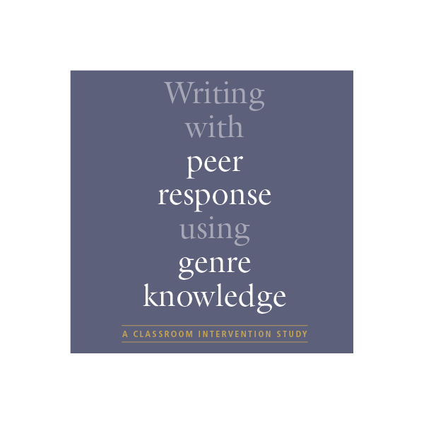 writing with peer response using genre knowledge - mariëtte hoogeveen mettrop grafische vormgeving